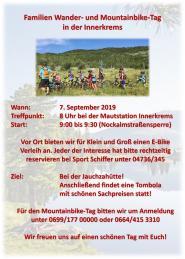 Familien Mountainbike Tag Innerkrems