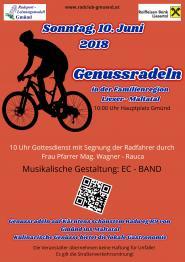 Genussradeln am 10. Juni 2018 in Gmünd